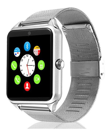 Reloj Smartwatch Z60 Sim Sd 32 Gb Acero Inoxidable Bluetooh+