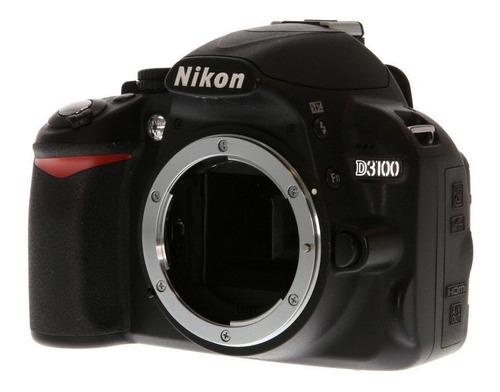Imagem 1 de 3 de Nikon D3100 DSLR cor  preto