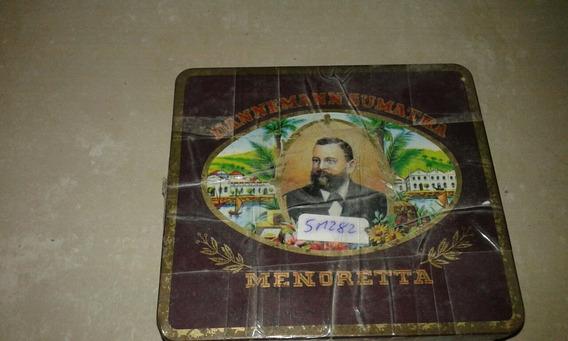 Antigua Caja De Cigarros