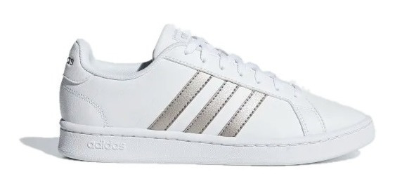 Tenis adidas Mujer Blanco Grand Court Base Ee7874