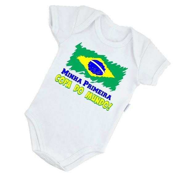 Minha Primeira Copa 2018 Body Do Brasil