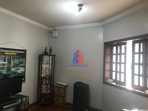 Sobrado Com 4 Dormitórios À Venda, 387 M² Por R$ 920.000,00 - Vila Nossa Senhora De Fátima - Americana/sp - So0150