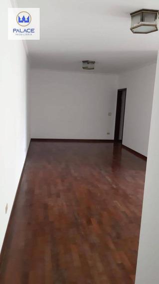 Apartamento Com 3 Dormitórios À Venda, 145 M² Por R$ 450.000 - Centro - Piracicaba/sp - Ap0381
