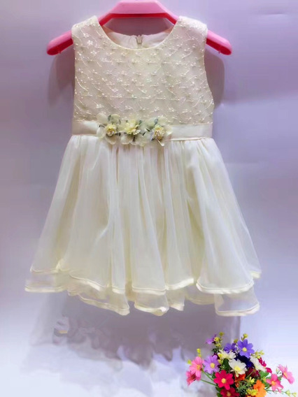 Vestido Importado De Nena Con Tull Para Fiestas, Bautismo, Cumpleaño, Cortejo, Eventos! Talle 2 A 6 ! Super Dedicado