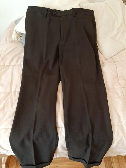 Pantalones Hombre De Vestir Zara