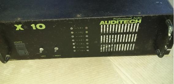Amplificador Auditech 3 Mil Watts Rms