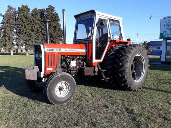 Tractor Massey Ferguson 1340 S2 C/vigía Y Duales. Excelente