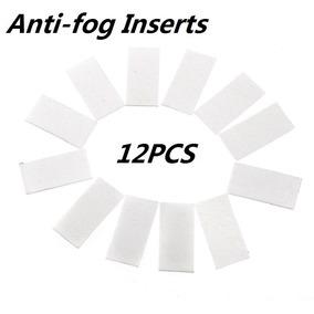 Kit Com 12 Pastilhas Anti Embaçante Fog Compatível Gopro
