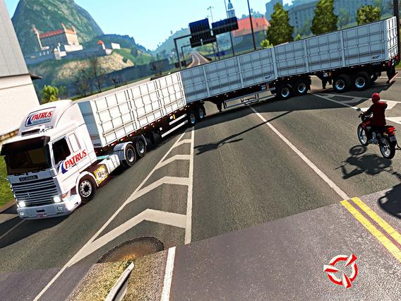 Euro Truck Simulator 2 Pc+dlcs + Mapa Brasileiro 1.36