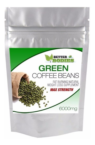 Green Coffee Bean Extract - Better Bodies 120 Capsulas