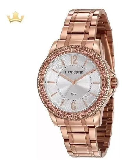 Relógio Mondaine Dourado Feminino 53601lpmvre3 Rosegold