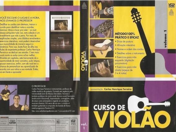 Curso De Violão - Dvd | Frete Grátis