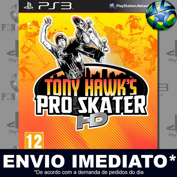 Tony Hawks Pro Skater Hd Ps3 Psn Jogo Em Promoção