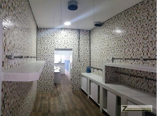 Imagem 1 de 10 de Salão Para Alugar, 120 M² Por R$ 4.000,00/mês - Cocaia - Guarulhos/sp - Sl0024