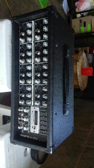 Consola Amplificada Saypro 8 Canales