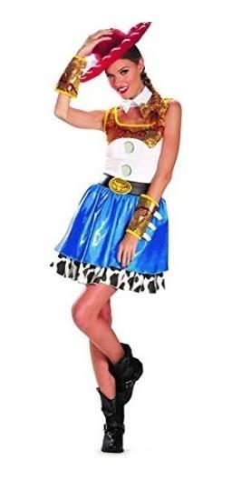 Disfraz Jessie Halloween Fiesta Toys Story Xgrande 18 A 20 J
