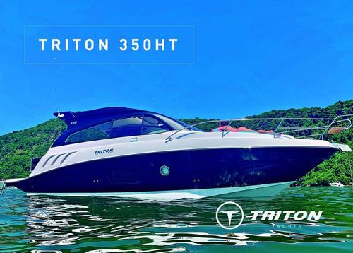 Imagem 1 de 14 de Lancha Triton 350 Ht Promoção De Inverno Ñ Real Coral Focker