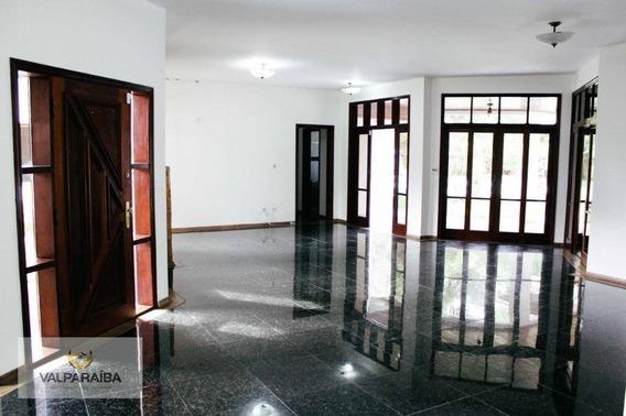 Casa Com 4 Dormitórios À Venda, 470 M² Por R$ 3.500.000 - Bosque Dos Eucaliptos - São José Dos Campos/sp - Ca0192