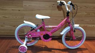 Bicicleta Infantil Rodado 16 Nena Baiking