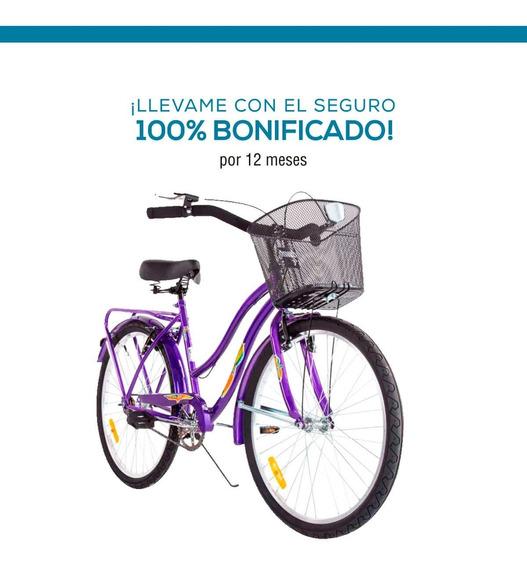 Bicicleta Dama M.hendel Playera Full R-26 Colores Varios