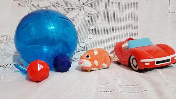 Zhuzhu Pets - Carro + Hamster + Bola Aventura