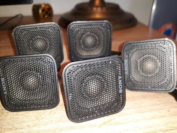 5 Mini Micro Caixas De Som Som Sony Home Ss-is10 Ls10 Suport