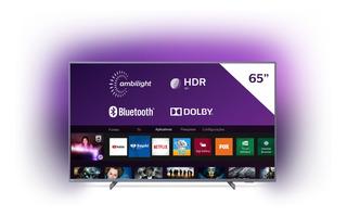 Smart Tv 4k Philips 65 65pug6794/78 Bluetooth Prata