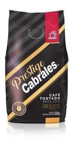 Cafe Molido Cabrales Prestige 500gr Tostado Sin Gluten