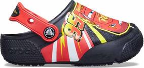 Zapato Crocs Niño Rayo Mcqueen Con Luces