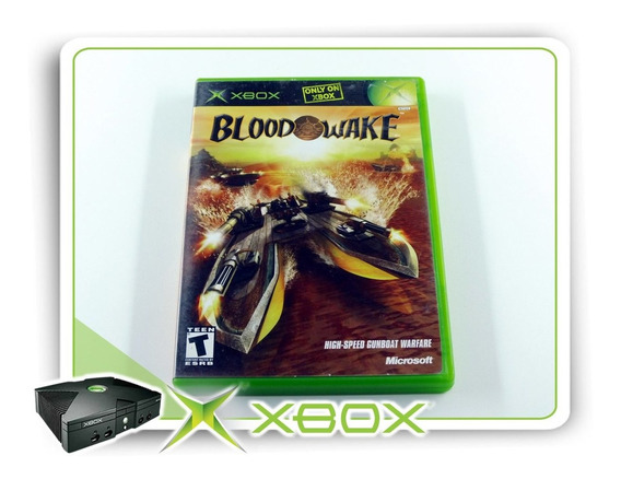 Blood Wake Original Xbox Clássico Ntsc