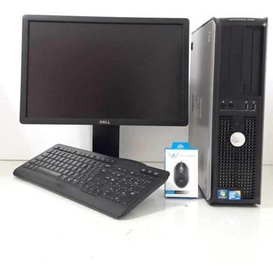 Computador Dell Core 2 Duo 4gb 250gb Monitor 19