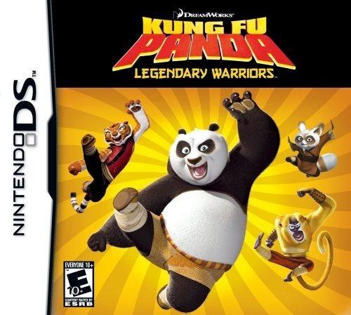 Jogo Kung Fu Panda Legendary Warriors Nintendo Ds 3ds Física