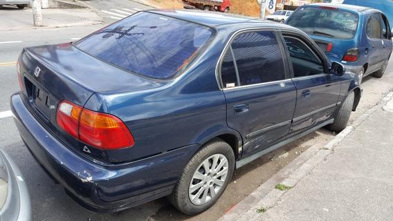 Sucata Honda / Civic Lx 1999 (somente Peças)