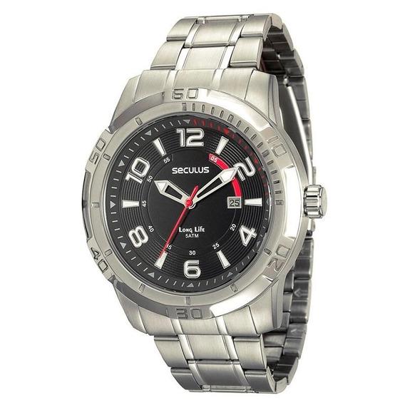 Relógio Seculus Masculino Long Life - 20327g0svna1