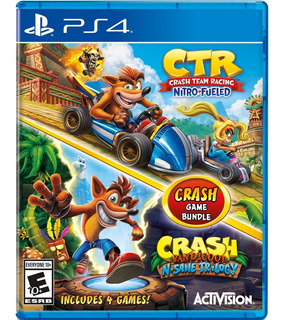 ..:: Crash Team Racing + Crash Bandicoot Bundle :.. Para Ps4