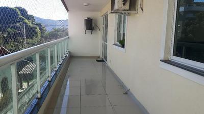 Apartamento Em Itaipu, Niterói/rj De 160m² 4 Quartos À Venda Por R$ 740.000,00 - Ap215542
