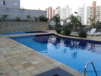 Apartamento Novo Pronto Para Morar Com Piso Armários Box Gabinete Prédio Com Lazer Completo - Ja13580