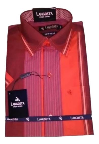 Camisa Manga Corta De Vestir Para Niños