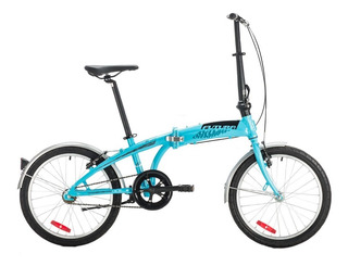 Bicicleta Plegable Futura Origami Aluminio Rodado 20 Lh