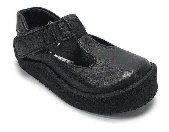 Zapatos Colegiales Enzo Galota Niña Negro Eg 0302 Corpez 26