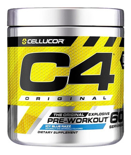 C4 Pre Workout X 60 Servicios - Cellucor Adn