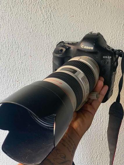 Camera Canon 1dx Com Lente 70-200 2.8 Is L