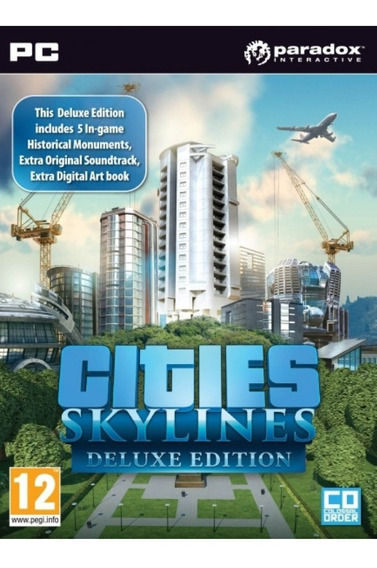 Cities: Skylines - Pc Mídia Digital + Brinde