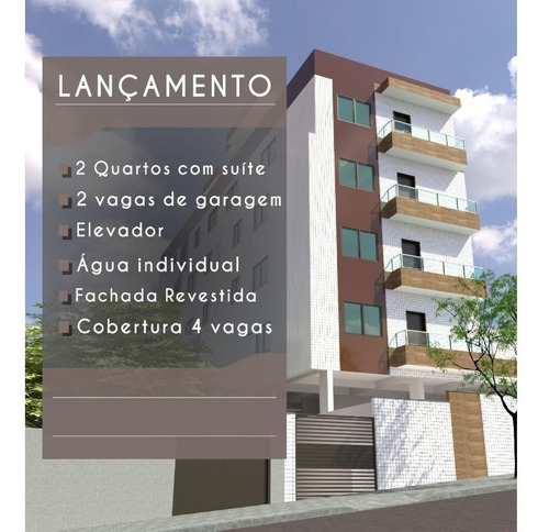 Imagem 1 de 10 de Apartamento À Venda, 2 Quartos, 1 Suíte, 2 Vagas, Santa Cruz Industrial - Contagem/mg - 23031