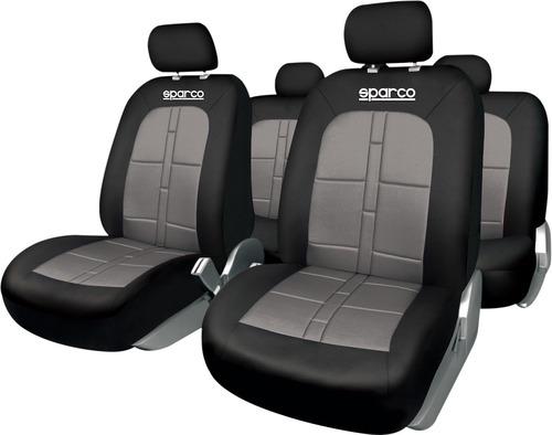 Set Fundas Asiento Auto Forro Protector Sparco Spc1015gr_p
