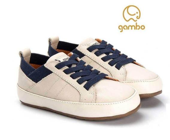 Tênis Infantil Masculino Gambo Napa Off-white -