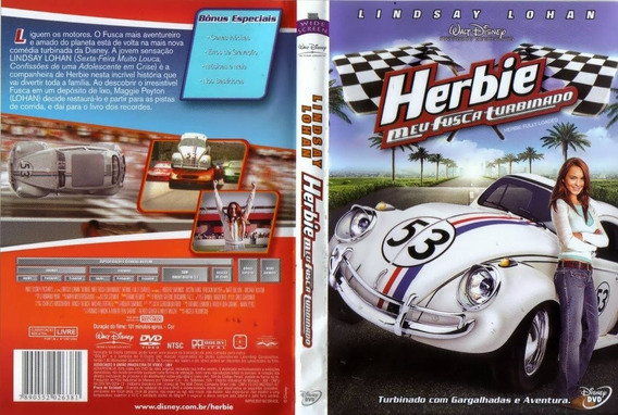 Herbie Meu Fusca Turbinado Dvd Original Novo Lacrado