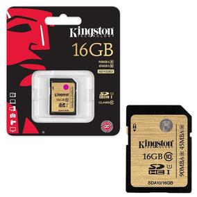 Sdhc Kingston Clase 10 16 Gb