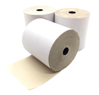 Pack 10u Rollo De Papel Quimico 76 Mm X 30 Mts