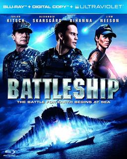 Blu Ray Battleship (cover) Original